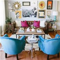 客厅装修沙发还在买成套的吗?混搭风已成为新时尚